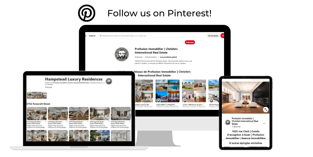 Find Profusion Immobilier on Pinterest!