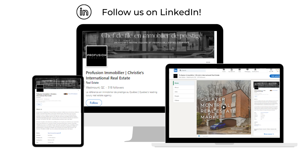 Find Profusion Immobilier on Linkedin!